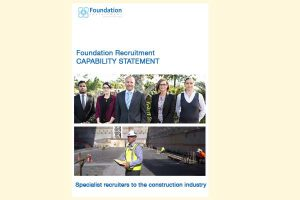 Capability Statement for Foundation Recruitment by Madrigal Communications.