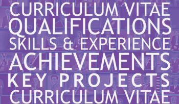 Key things for a proposal CV : qualifications, skills and experience, achievements and key projects