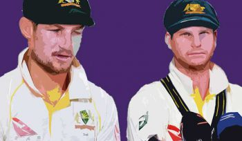 Steve Smith and Cameron Bancroft get themselves into trouble at the post ball-tampering press conference in March 2018 exhibiting the hubris that has so upset the cricketing world.