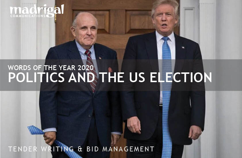 the second most important event of 2020 was the US election played out in against the back-drop of the pandemic and the Black Lives Matter movement.
